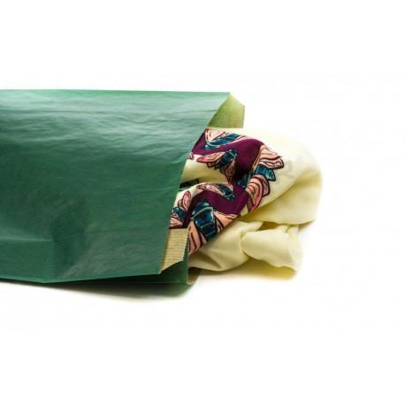 在牛皮纸上的黑暗绿色的21.5+6价。5x36cm50个单位