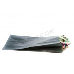 010263 Sobre de papel kraft azul oscuro 36X21.5+6.5 cm 50 unidades. Tridecor