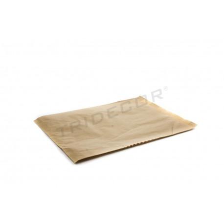 En paper kraft de l'havana 38X26+5 cm, de 100 unitats