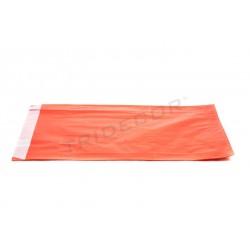 Sobre paper de pasta de paper vermell 18+4.5x29cm 100 unitats