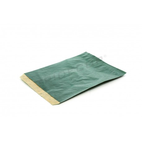 Sobre de papel kraft verde oscuro 16x21cm 50 unidades