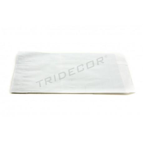 Sobre de papel celulosa plata 14x19cm 100 unidades