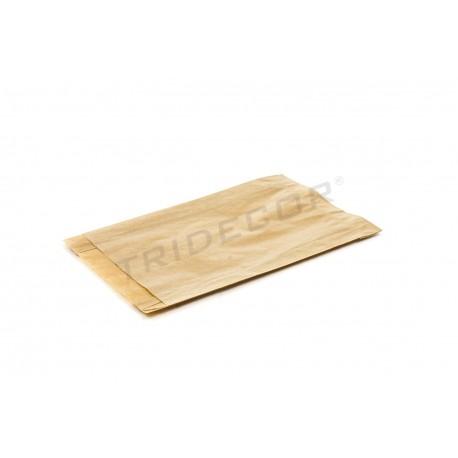En paper kraft de l'havana, 13.5x21+4 cm 50 unitats