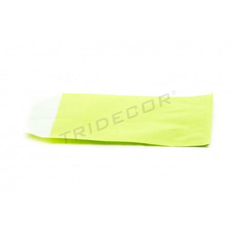 Sobre papel celulosa verde claro 6.5x11cm 50 unidades