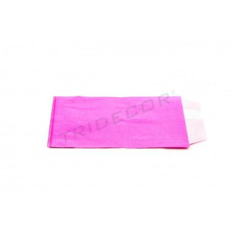 Sobre papel celulosa fucsia 9x13cm 100 unidades