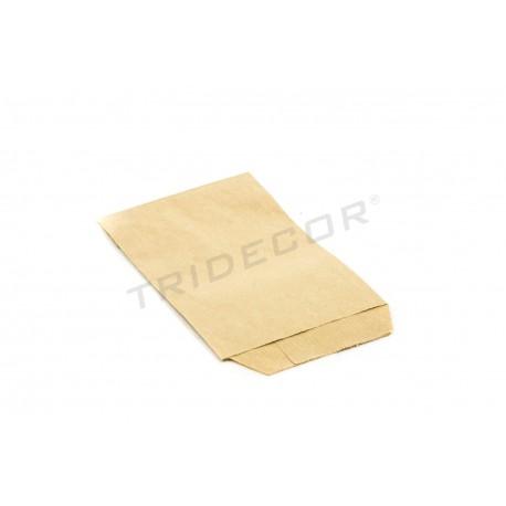 Sobres de papel Kraft color havana 9x13cm 100 unidades