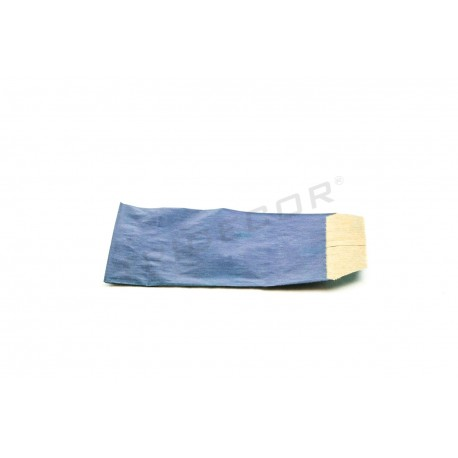 Sobre papel kraft azul marino 6.5x11cm 100 unidades