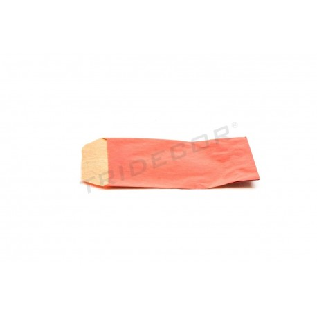 No papel kraft vermella 6.5x11cm 50 unidades
