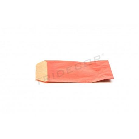 Sobre papel kraft vermelho 6.5x11cm 50 unidades