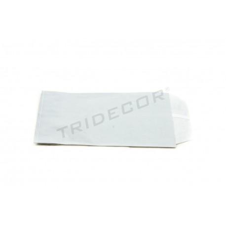 Sobre de papel celulosa plata 12x16cm 100 unidades