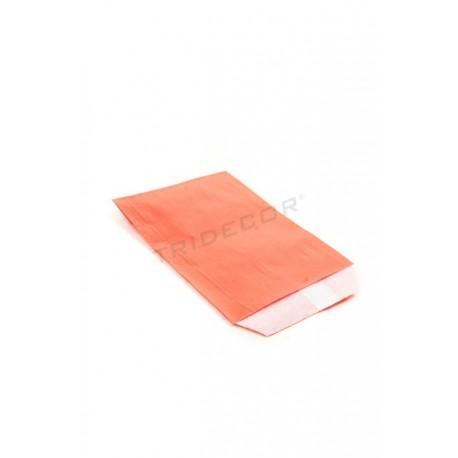 Sobres de papel celulosa rojo 9x13cm 100 unidades