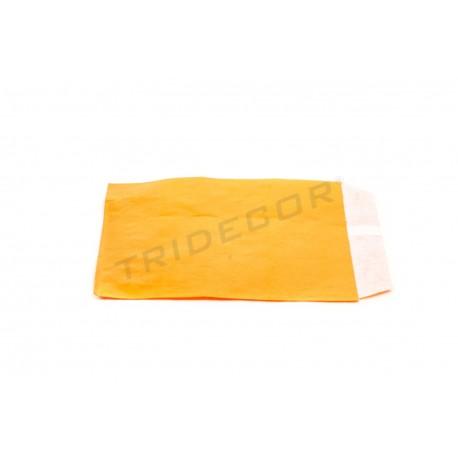 En pasta de paper taronja 12x14cm 50 unitats