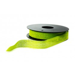 RIBBON YARN LIGHT GREEN 20 MTS