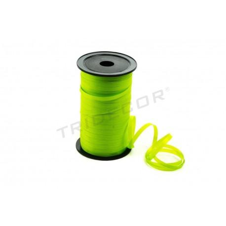 Cinta regalos verde claro, 100 metros, tridecor
