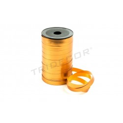 TAPE POLYPROPYLENE-COLOR-BRONZE METALLIC 100 MTS