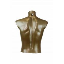 Busto corto de hombre polietileno cobre