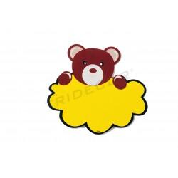 Cartel ofertas con estampado de oso, tridecor