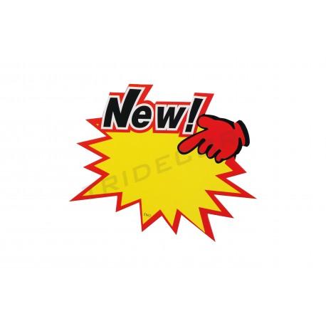 Cartel ofertas new para tiendas, tridecor