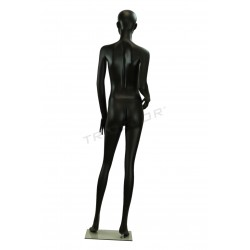 Mannequin women's features semi faccionados color matte black
