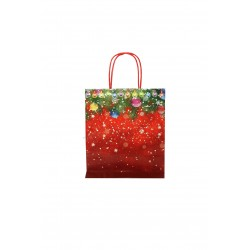 BAG PAPER CHRISTMAS MOTIFS 25 UNITS