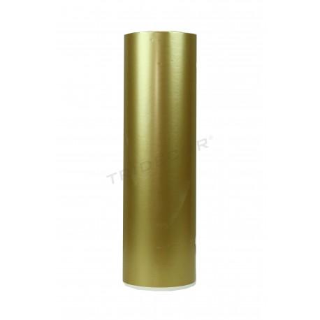 Papel de regalo dorado 31cm