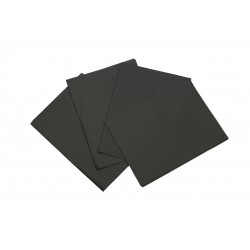 Tissue paper black 50x75cm 100 units