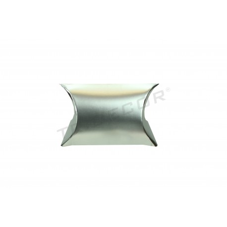 Cartone argento regalo 6x5+2,5 cm 50 unità