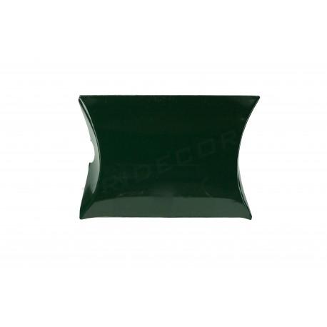 Sobre para regalos, cartón verde. 12x11+2.5 cm. 50 uds, tridecor