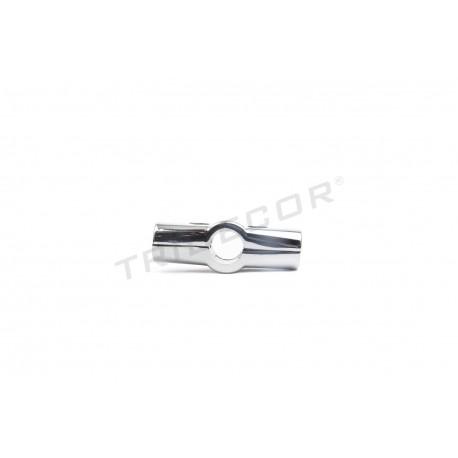 006027 Piezas de unión para tubos 25mm 4 salidas. Tridecor