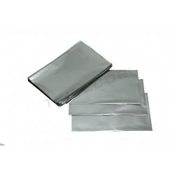In plastica argento metallizzato 25x15cm 100 unità