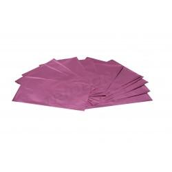 Envelope plástico metalizado rosa 40x25cm 100 unidades