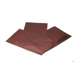 Envelope plástico metalizado vinho 40x25cm 50 unidades