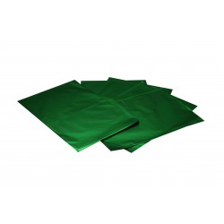 ON PLASTIC METALLIC GREEN 50X35 CM 50 UNITS