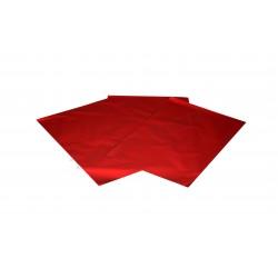 In plastica colore rosso metallizzato 50x35cm 50 unità