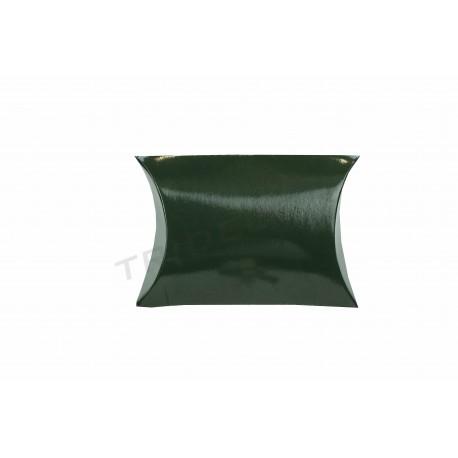 En cartró verd regal 7x7x2.5 cm 50 unitats