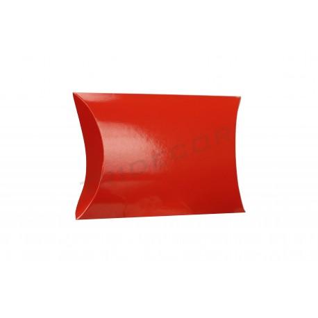 Sobre cartão vermelho para presente 12x11x3.6cm 50 unidades