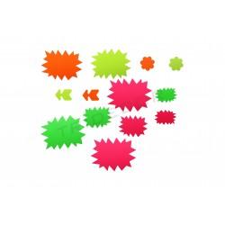 Pack manifesti oferas di negozi di vari colori, tridecor