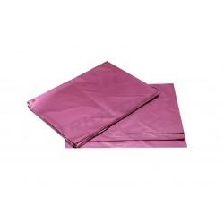 Preto de plástico rosa metálico 60x40cm 50 unidades