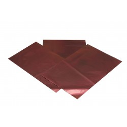 Sobre de plástico metalizado marrón 60x40cm 50 unidades