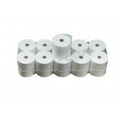 Rollo de papel para caja registradora 70x65x12 mm, 10 rollos por paquete, tridecor