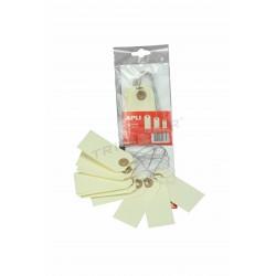 014321 Etiqueta para ropa con lazo de almabre 10 unidades. Tridecor