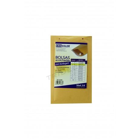 Padded envelope adhesive closure 215mmx120mm 10 units