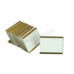 MARK PRICE GOLD RECTANGULAR 10 UNITS