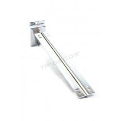 002299 Support d'étagère double pour lama 35 cm Tridecor