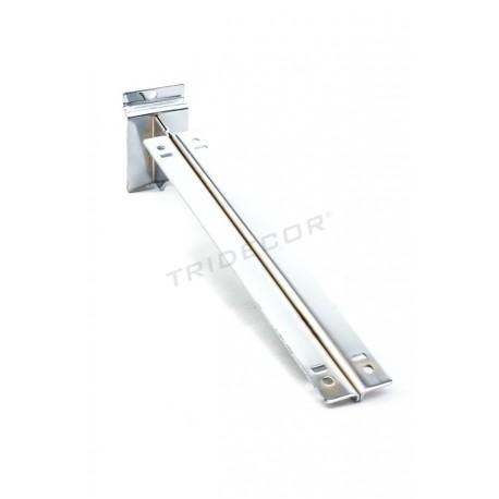 002299 Soporte de estante doble para lama 35 cm. Tridecor