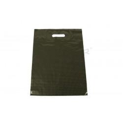 塑料袋模切处理,并增强35X45厘米色黑色和金色点
