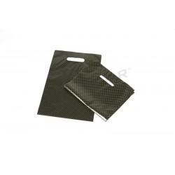 包装袋的塑料与模切处理,并增强25X35厘米色黑色和金色点