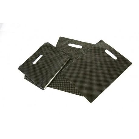 As bolsas de plástico vendidos en paquetes de 100 unidades
