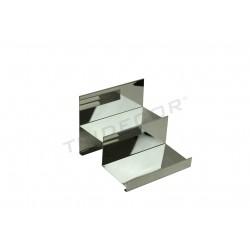 参展阶梯的铬钢2的高度