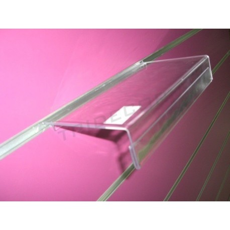 Erakustoki akrilikoa portaprecio egiteko panel lamas 24X13cm